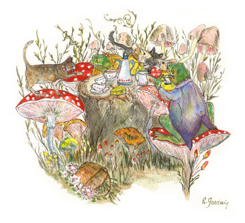 Frog's Teaparty - Robyn Goodwin